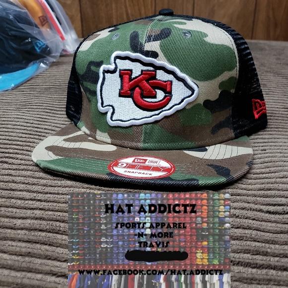 Kansas City Chiefs New Era 9fifty snapback hat d4b589548583